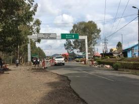 Crossing back over the border into Rwanda